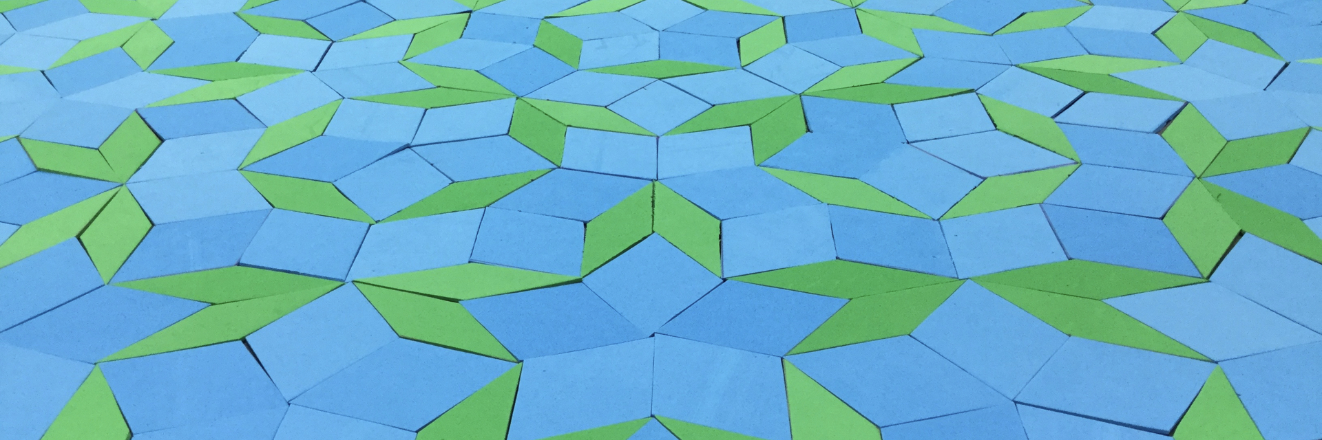 Electrons on a Penrose Tiling