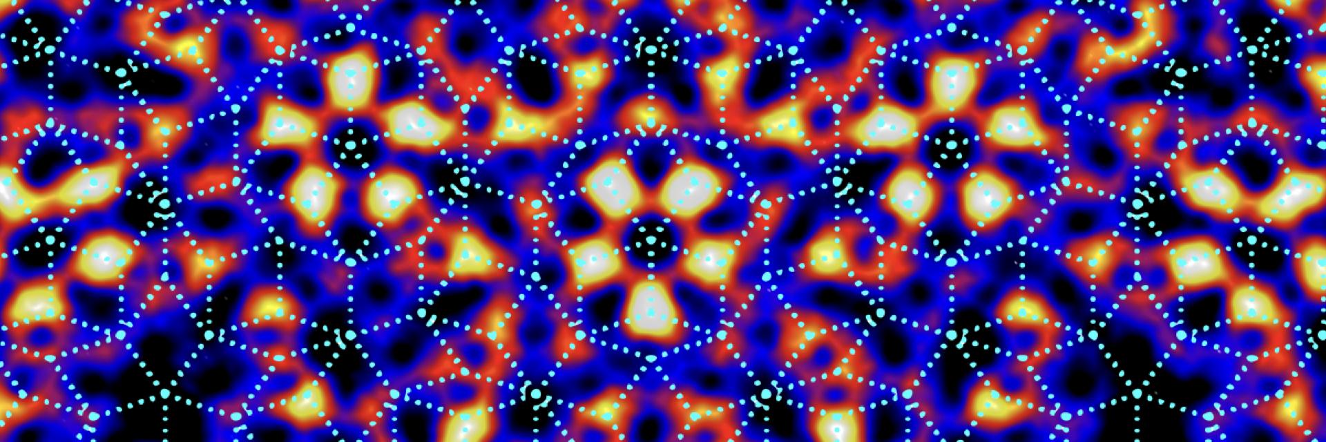 Imaging Quasiperiodic Electronic States